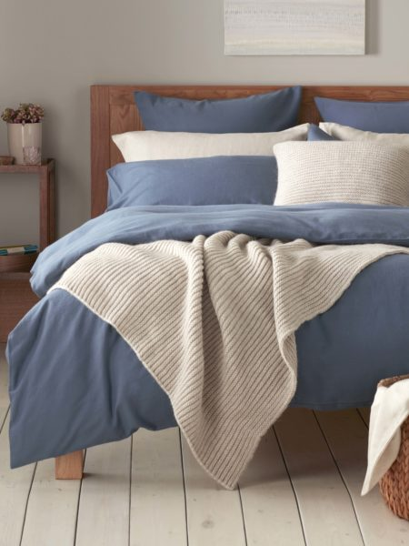 Relaxed Denim Slate Blue Bed Linen