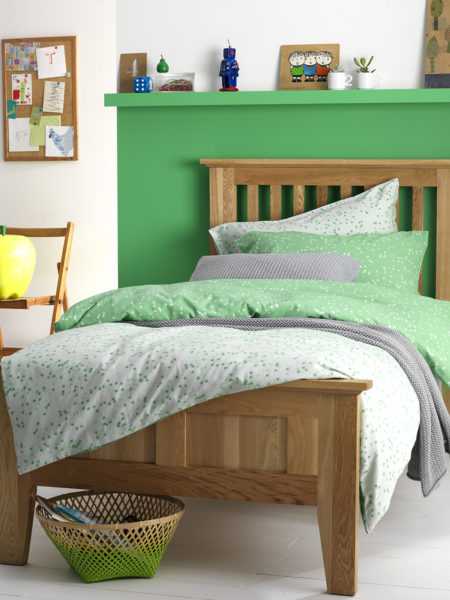 Stars Green Children's Bed Linen