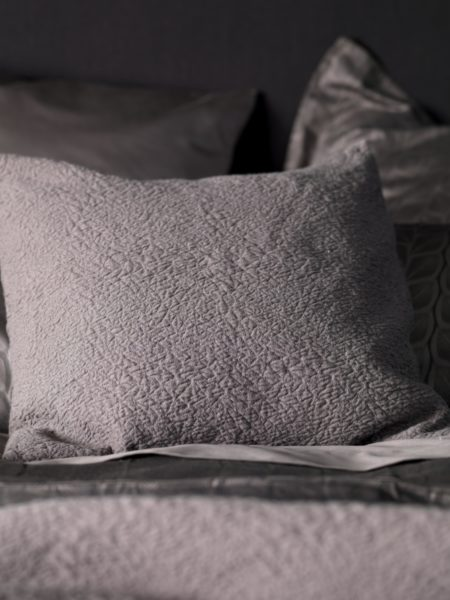 Steel Grey Cushion Cover