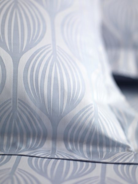 Teasels Blue Pillowcase