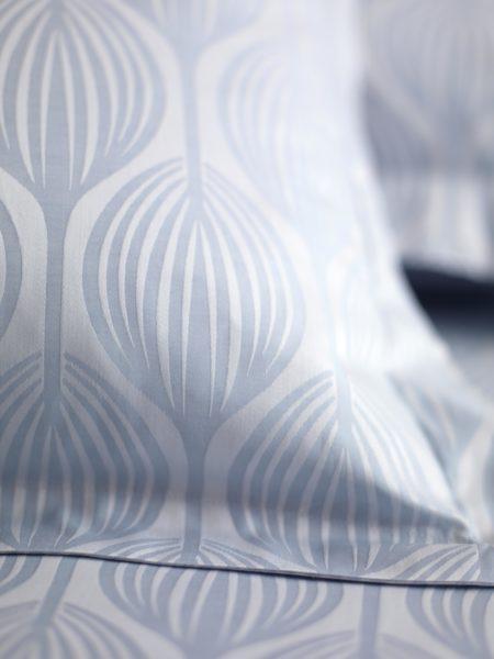 Teasels Blue Duvet Cover