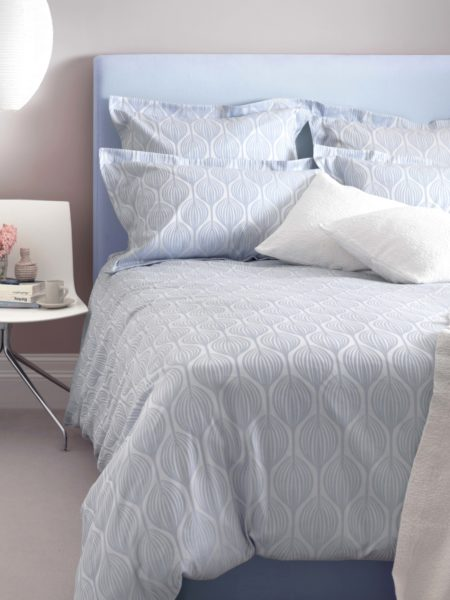 Teasels Blue Bed Linen