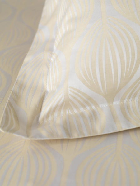 Teasels Butterscotch Duvet Cover