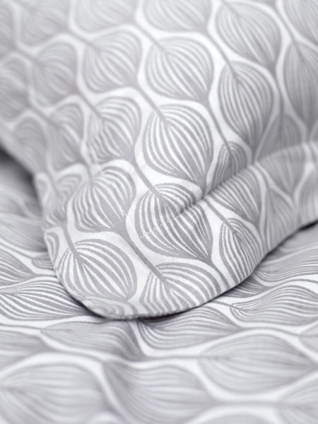 Teasels Dove Grey Pillowcase