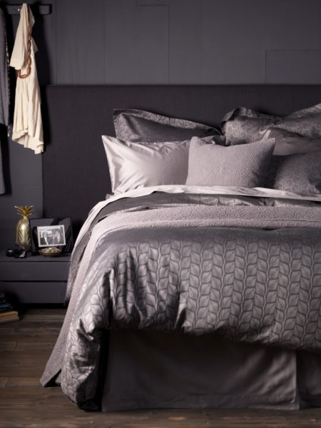 Thistles Black Bed Linen