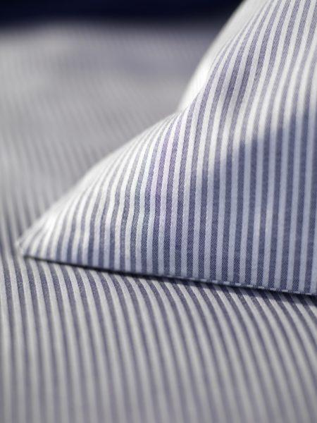 Tiny Stripe Navy Pillowcase