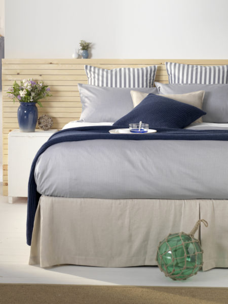 Tiny Stripe Navy Bed Linen