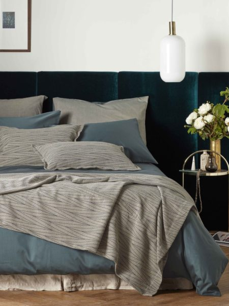 Twill Forest Green Bed Linen