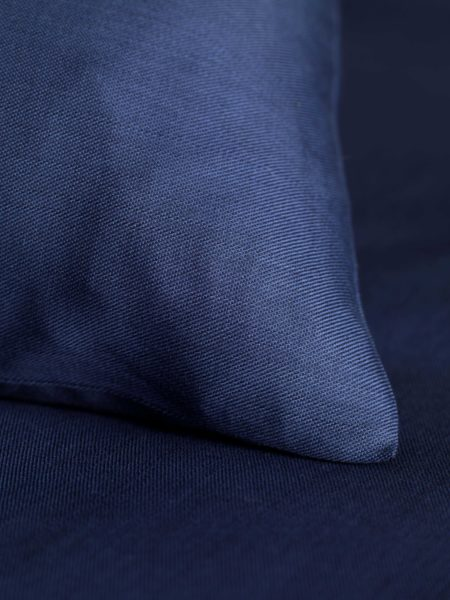 Twill Midnight Blue Pillowcase