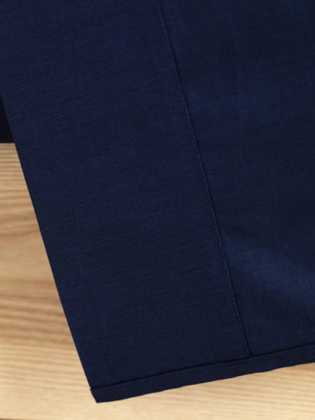 Twill Midnight Blue Flat Sheet
