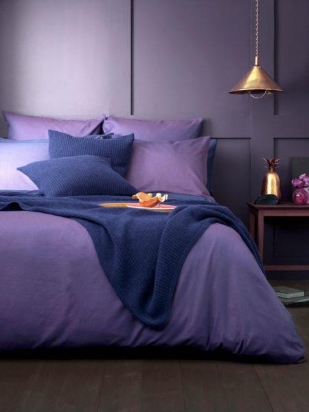 Twill Purple Bed Linen