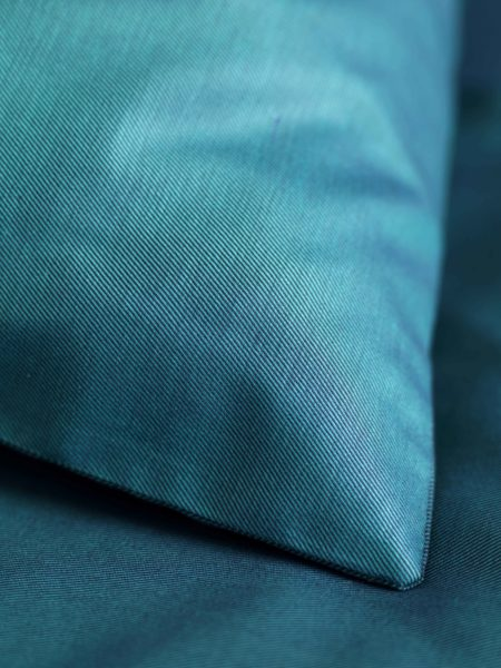 Twill Teal Duvet Cover