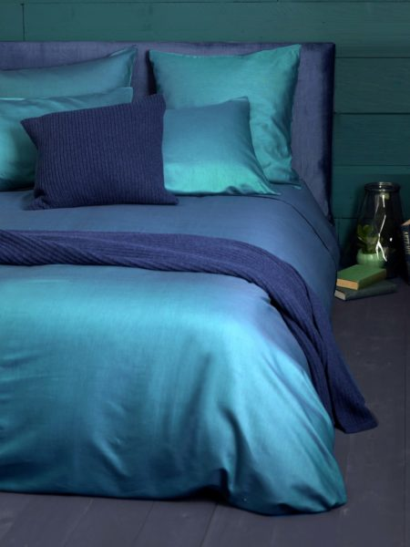 Twill Teal Bed Linen