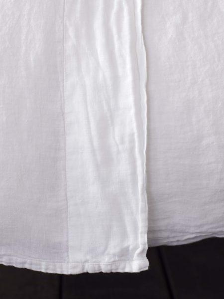 White 100% Linen Flat Sheet