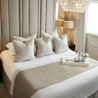Styling a Hotel Inspired Bedroom by Sarah Mailer