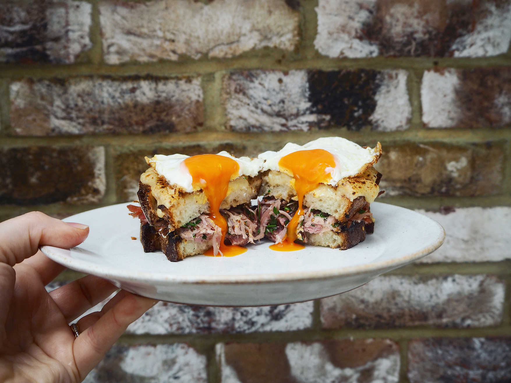 Croque Madame Brunch Idea