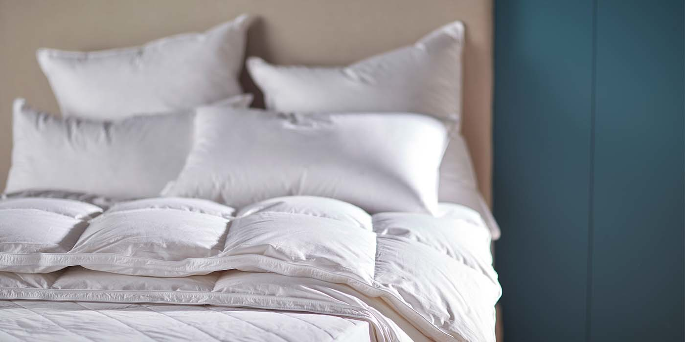 Freshly Filled Duvets and Pillows