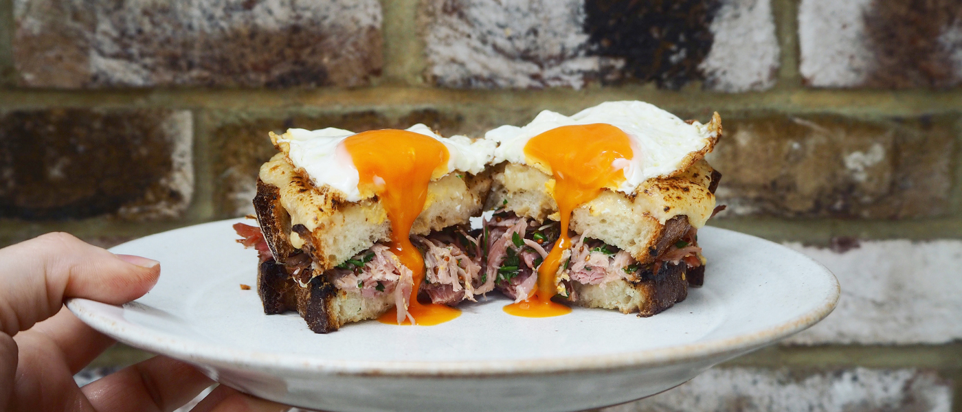 Ham Hock Croque Madame Recipe