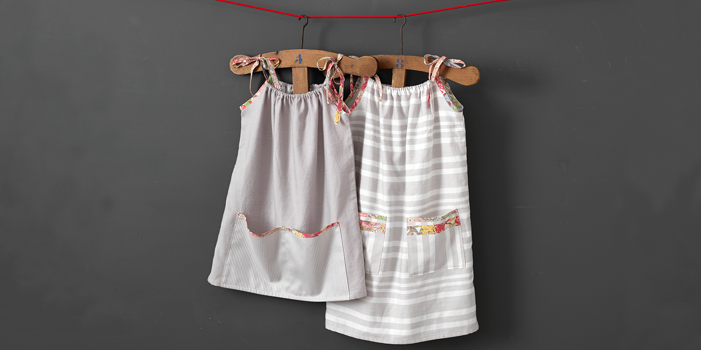 Our Little Dresses for Africa Pillowcase Dresses