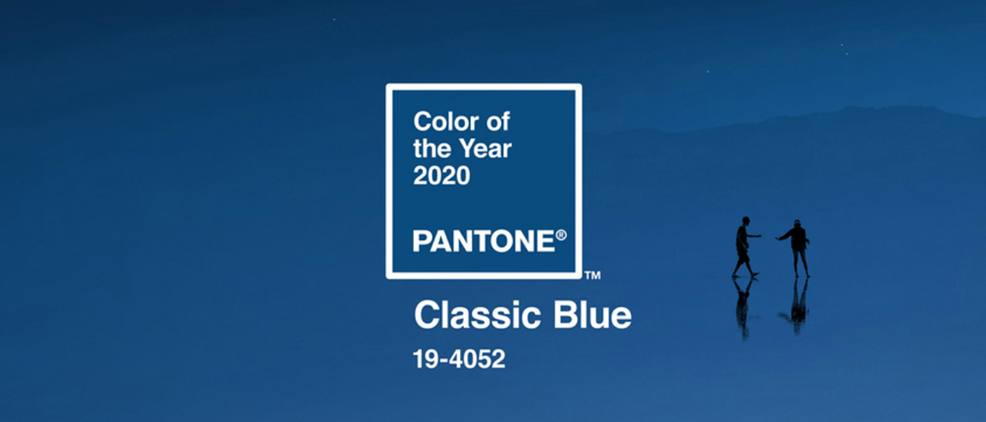 Pantone Colour of the Year 2020 - Classic Blue