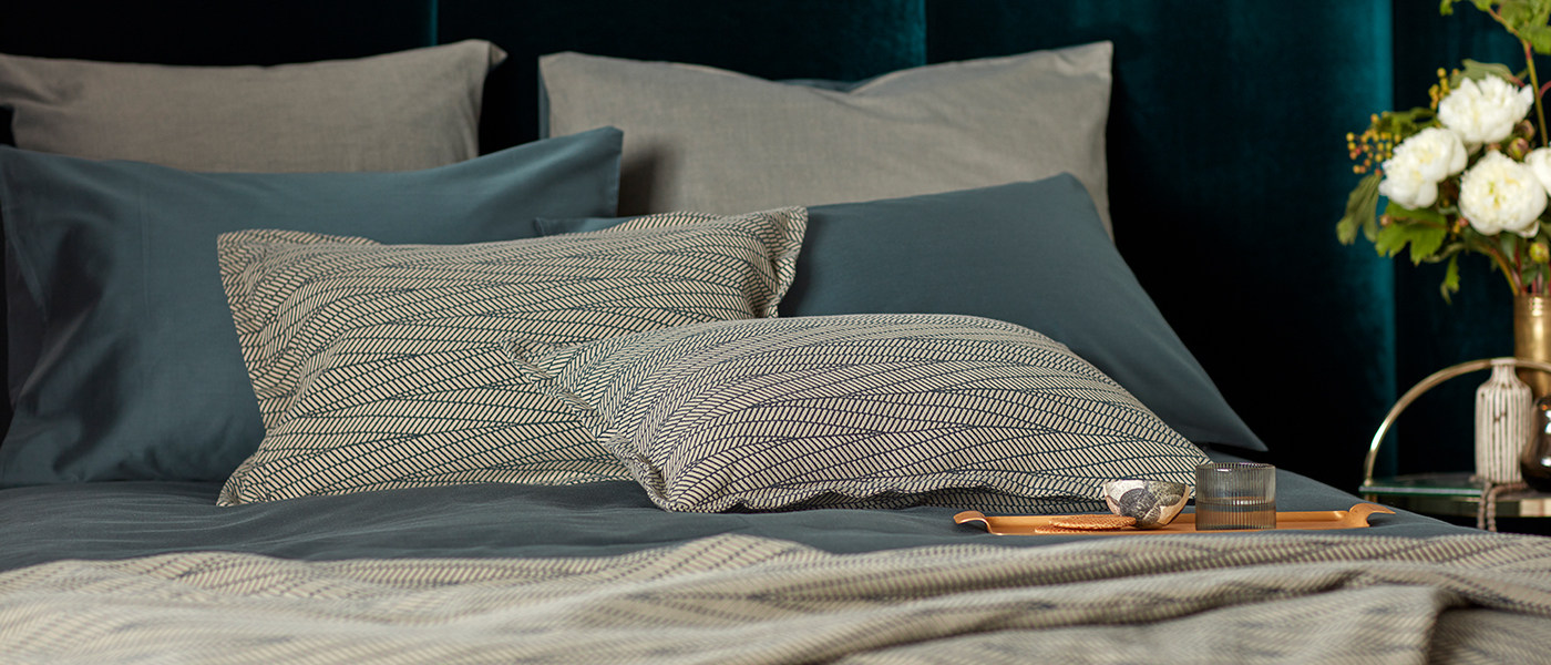 Twill Forest Green Bedding