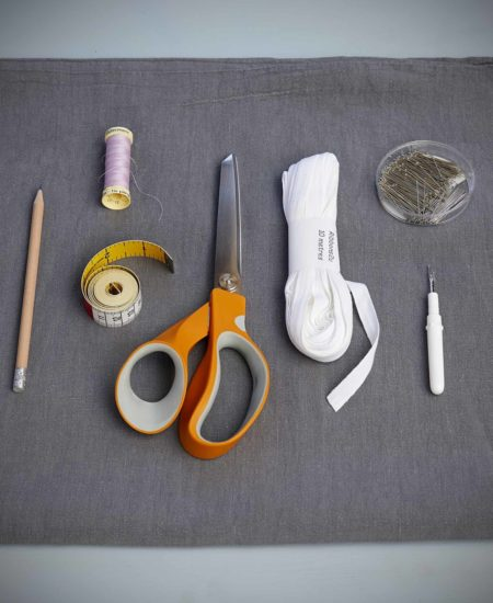 Make a scrub bag from a pillowcase