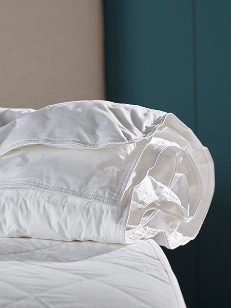 Bundle into bed with our super comfy duvets