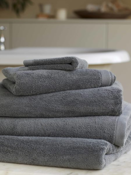 Charcoal Luxury Cotton Towels