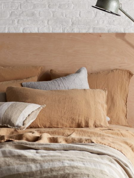 Cumin 100% Linen Pillowcase