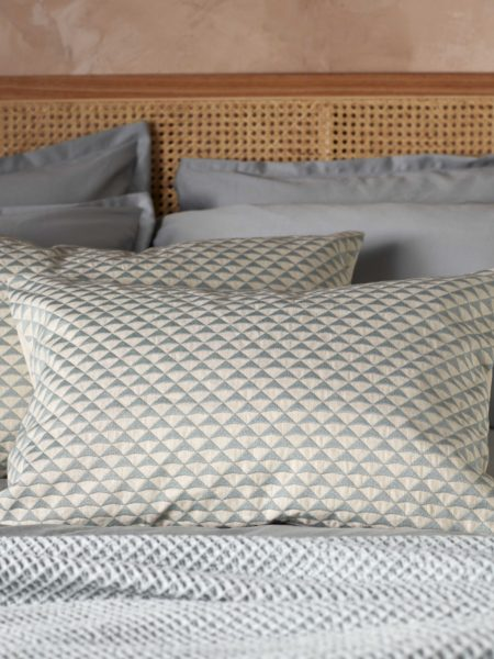 Geo Sage Cushion Cover