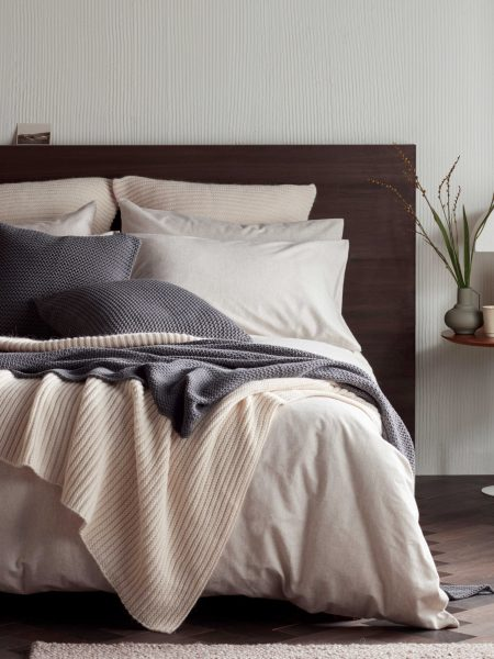 Max Marl Brushed Cotton Bed Linen