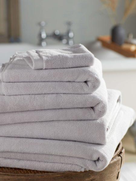 Pebble Grey Luxury Cotton Towels