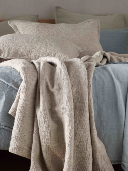 Porto Cushion Cover and Bed Throw