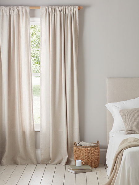 Finish any room with our gorgeous floaty curtains