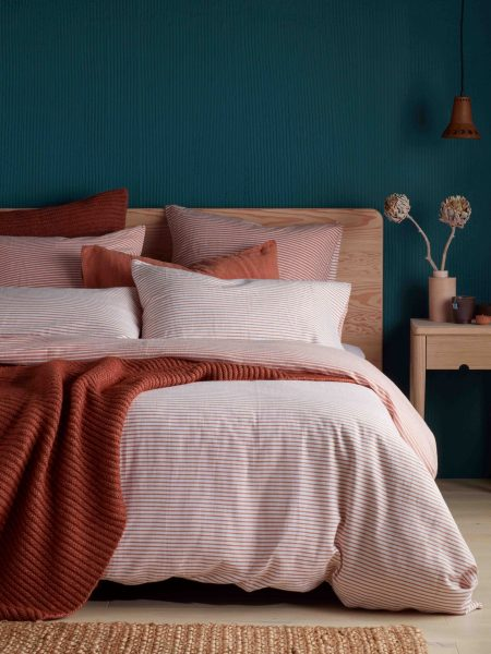 Spice Stripe Bed Linen
