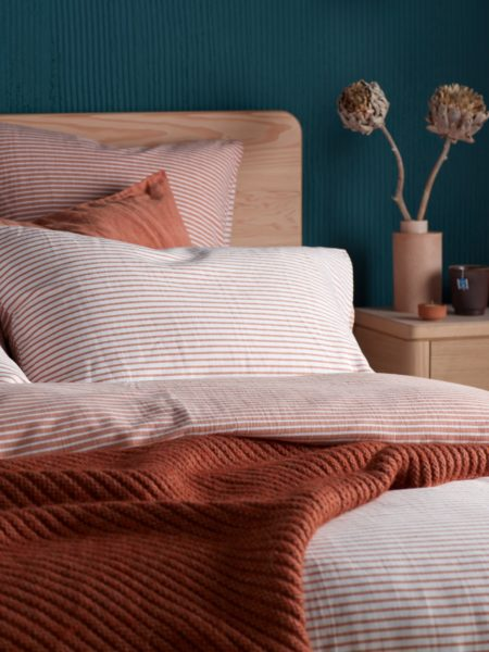 Spice Stripe Pillowcase
