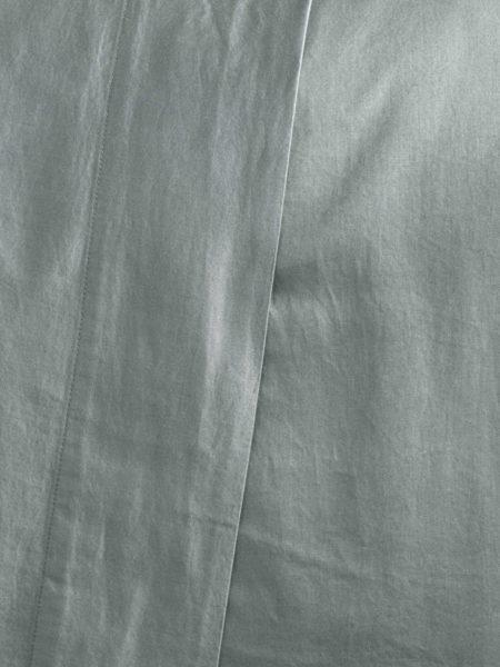 Super Soft Sateen Sage Flat Sheet