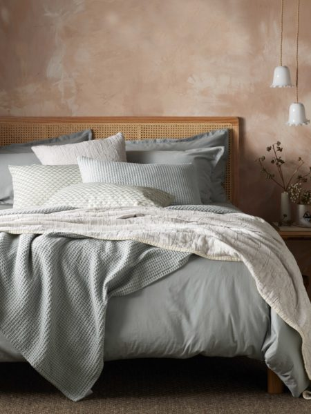 Super Soft Sateen Sage Duvet Cover