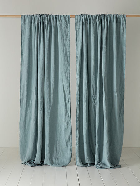 Let the Sun in With Our 100% Linen Curtains