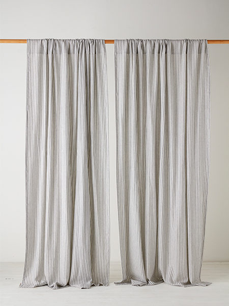 Flood your bedroom with bundles of colourful curtains