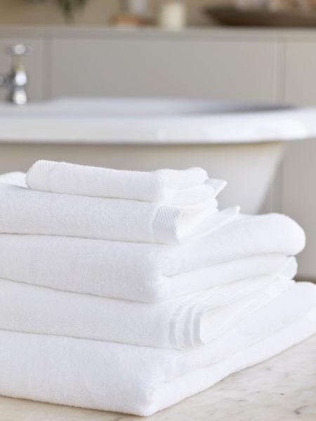 White Luxury Cotton Towels