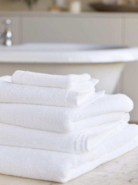 White Luxury Cotton Towels
