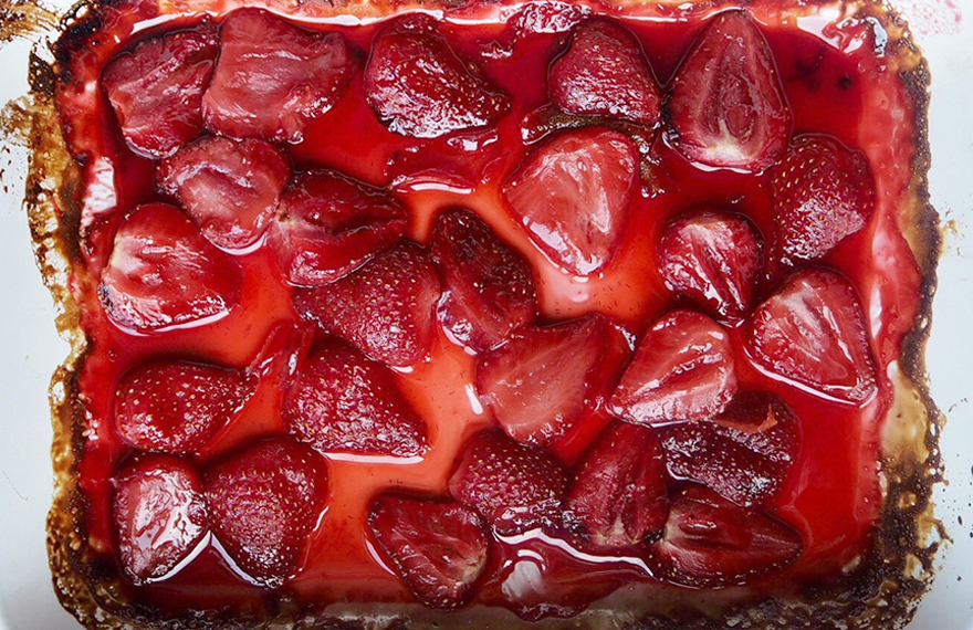 Oven Roasted Strawberries