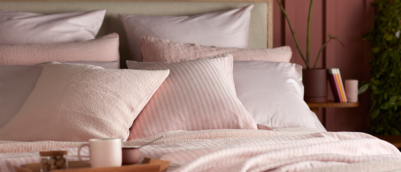 Blush Pink Bedding