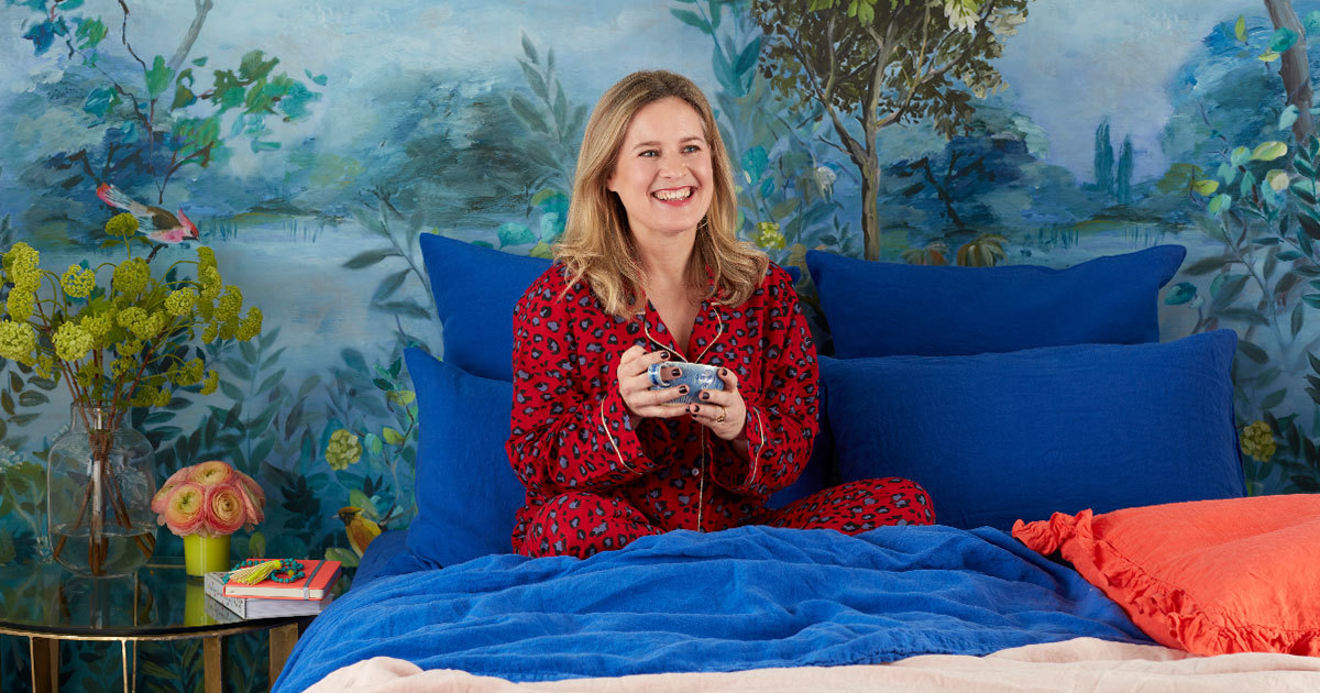 Sophie Robinson Bed Linen and Throws Collaboration